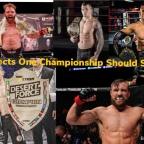 One Championship Should Sign World Class Prospects!