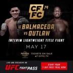 CFFC 74 Balmaceda vs Outlaw