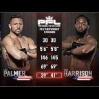 Predict Lance Palmer vs Andre Harrison for the PFL Featherweight Title (2019)