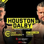 Cage Warriors 106: Dalby vs Ross Houston Main Event FIGHT for the AGES