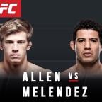 """UFC 239 Fighter to Watch: Arnold """"Almighty"""" Allen"""