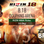 Jarred Brooks Former UFC Flyweight Rizin 18 Debut
