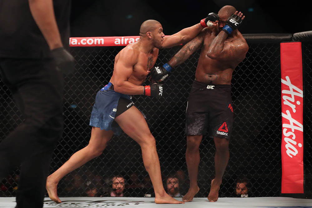 UFC Heavyweight Future Heavyweight Champion Ciryl Gane | Billy's MMA Blog